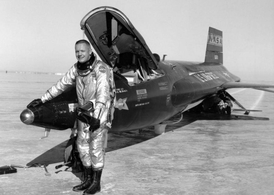 Vintage NASA Fighter