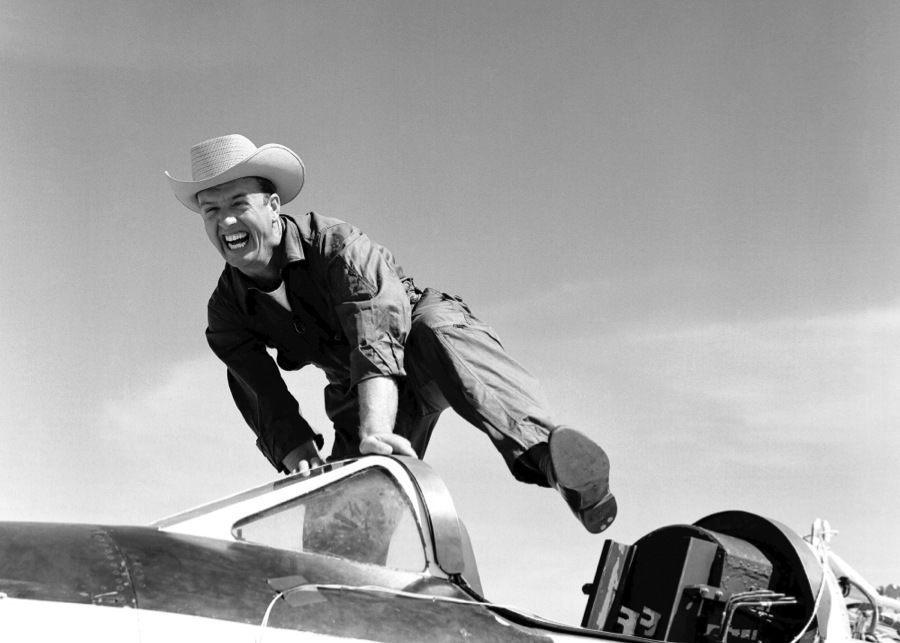 Vintage NASA Cowboy Pilot