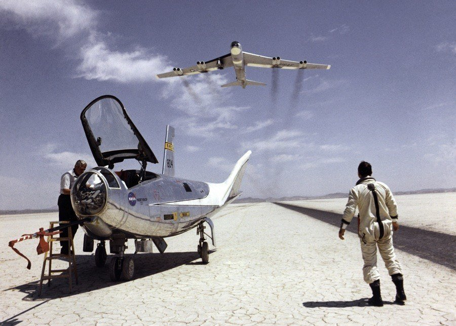 Vintage NASA Test Flights