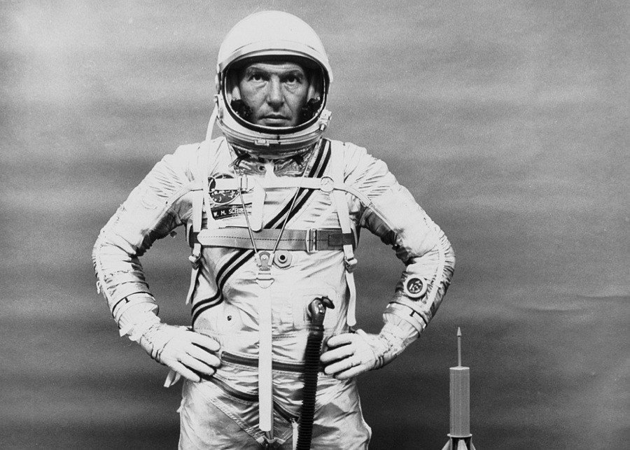 Vintage NASA Walt Schirra