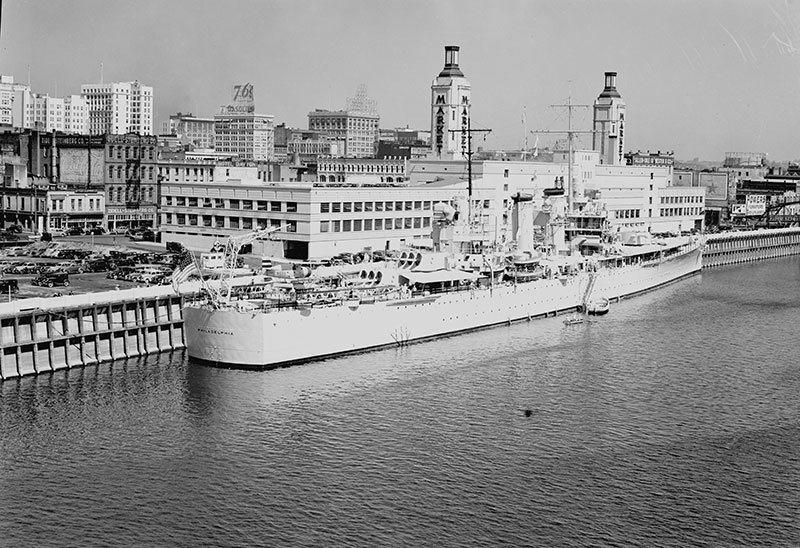 Portland Welcomes USS Philadelphia