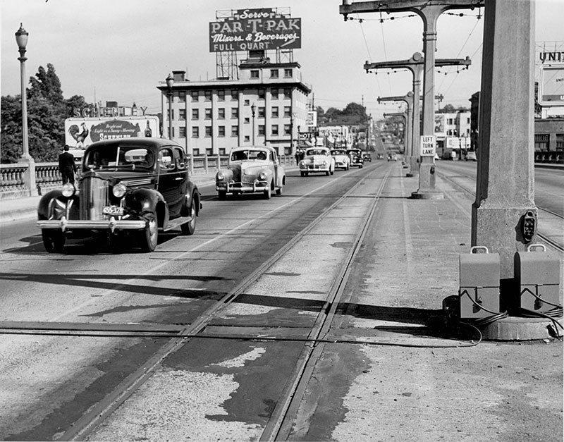 Burnside Bridge 1940