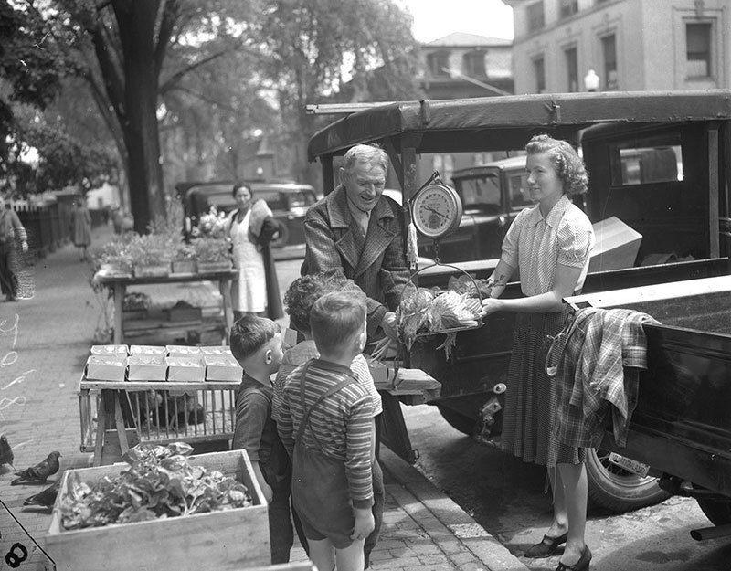 Vintage Portland Farmers Market