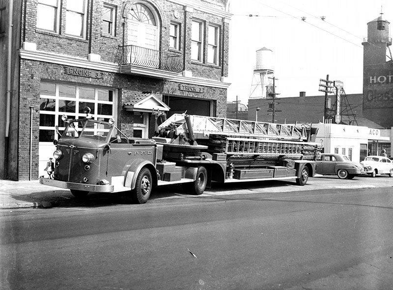 1950 American LaFrance Fire Engine