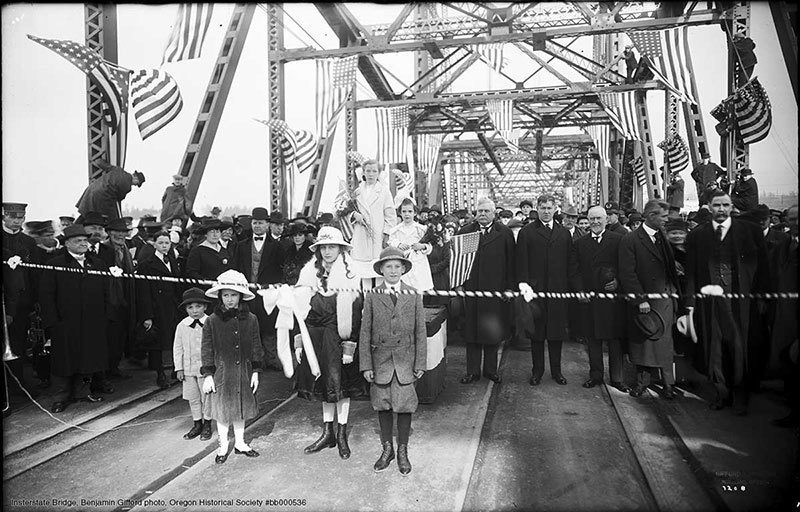 Portland Interstate Bridge Opening