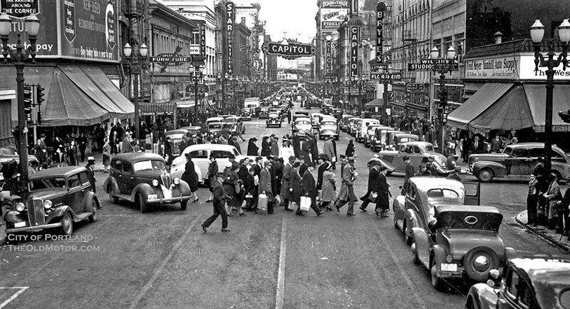 Portland in 1939