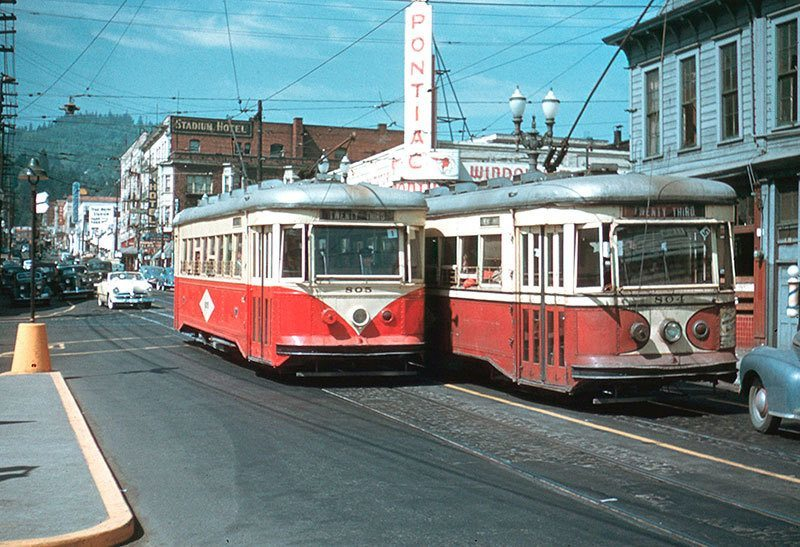 Portland, Oregon Streetcars