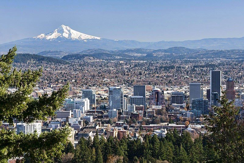 From A Strip Of Land That Cost Just 25 Cents To One Of The Nations Most Important Cities See Vintage Portland In All Its Glory