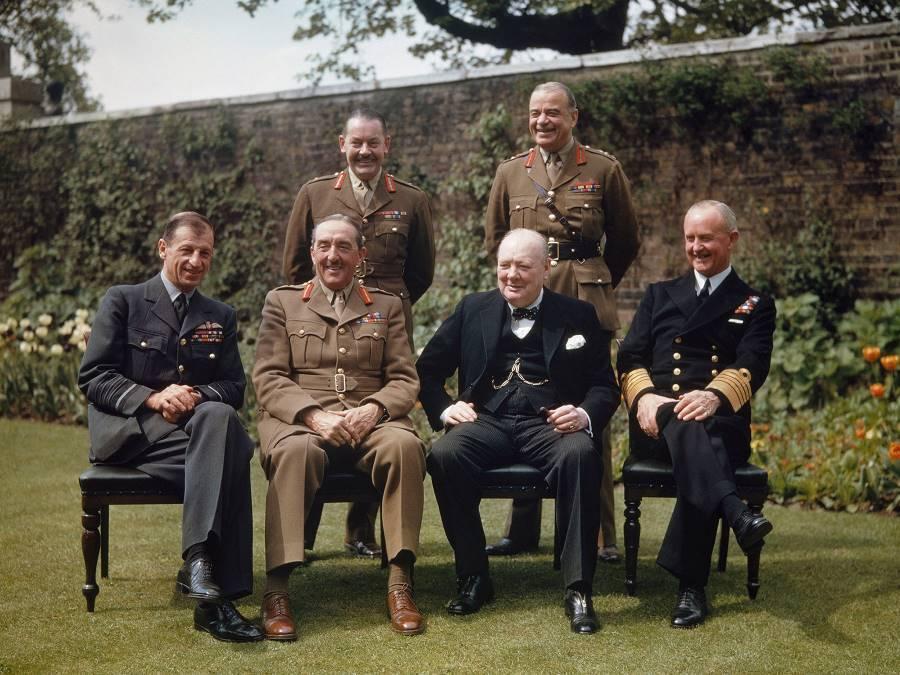 Churchill German Surrender