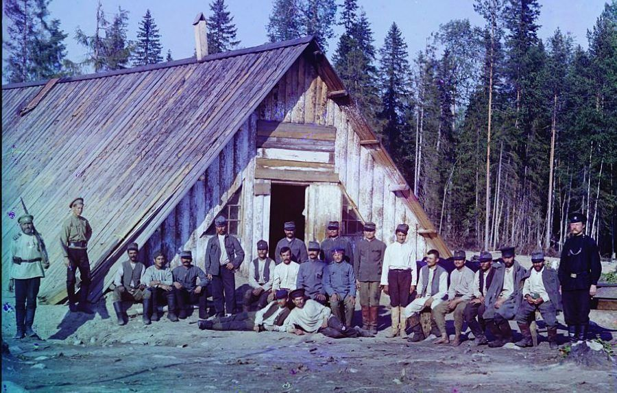 WW1 Photos Austrian Prisoners