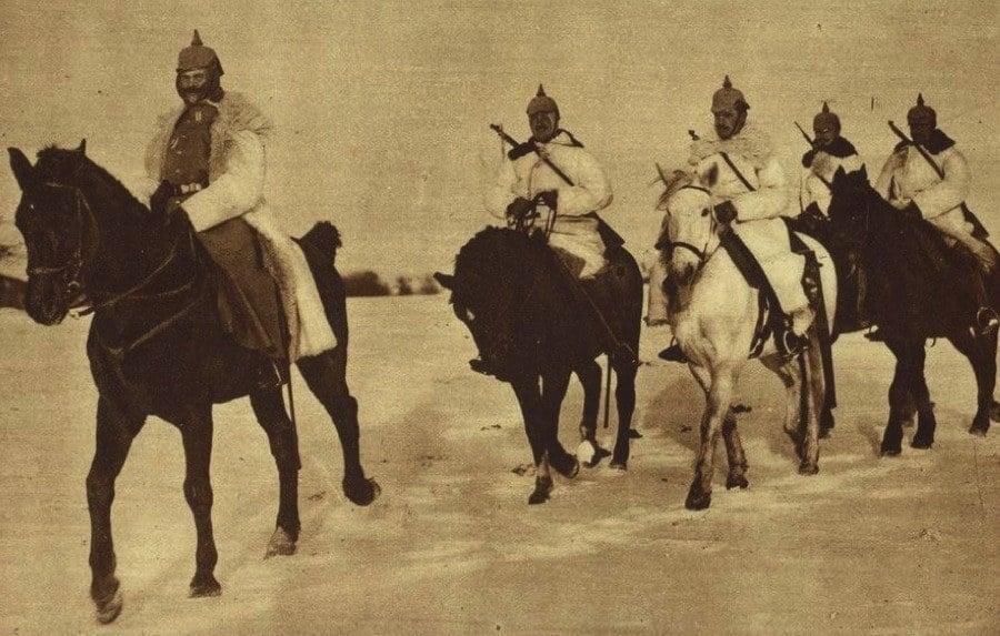 WW1 Photos German Cavalry