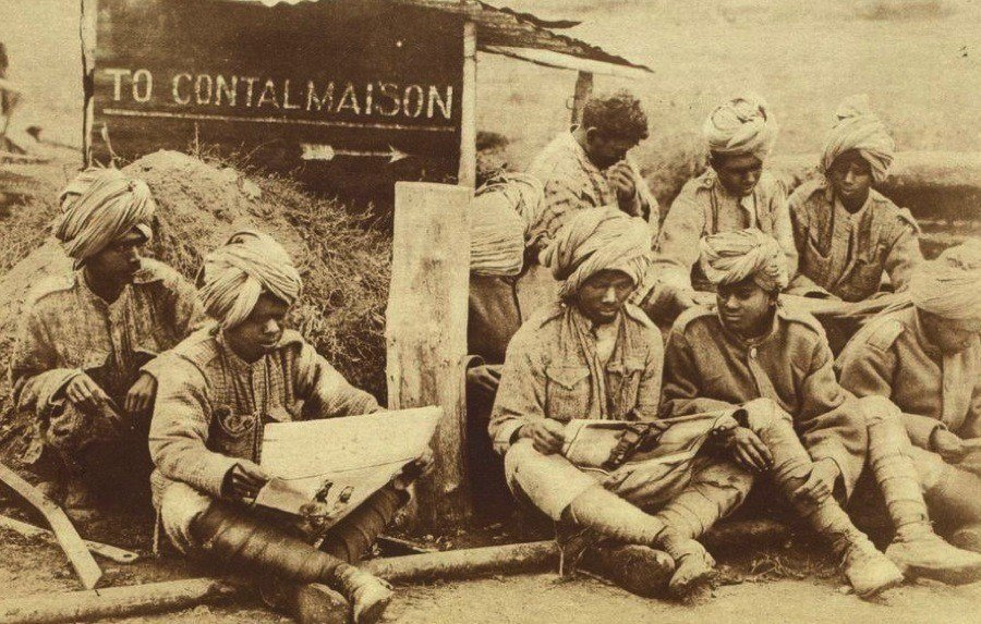 WW1 Photos Indian Soldiers