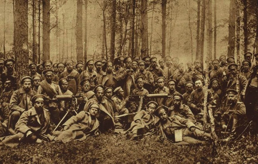 WW1 Photos Russian Group