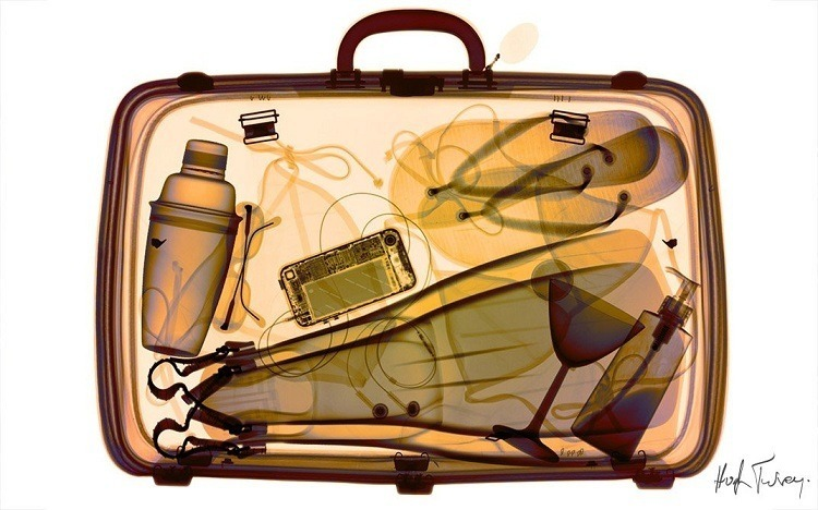 X-ray Art Suitcase