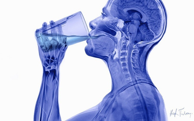 X Ray Drinking Water