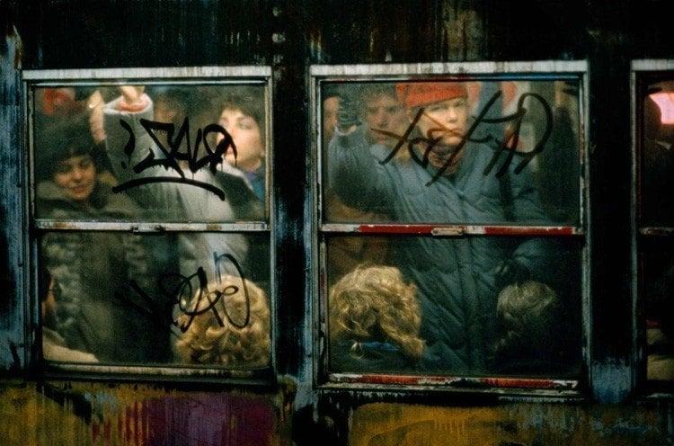 Rush Hour On The Subway