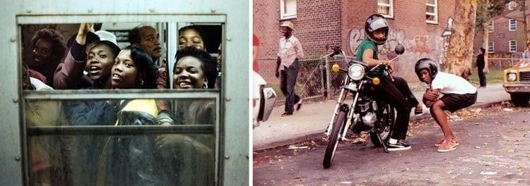 1980s new york window and bikes