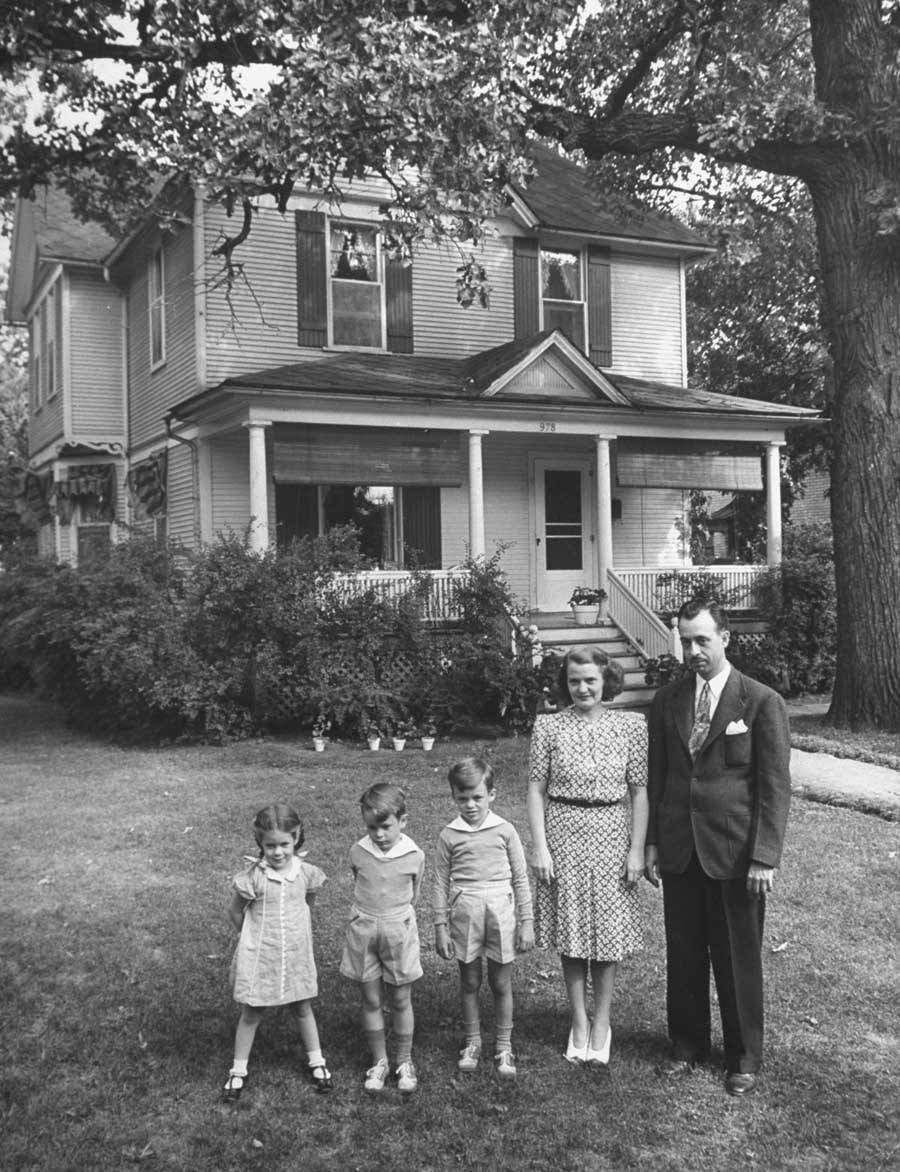 american mother 1941 family portrait