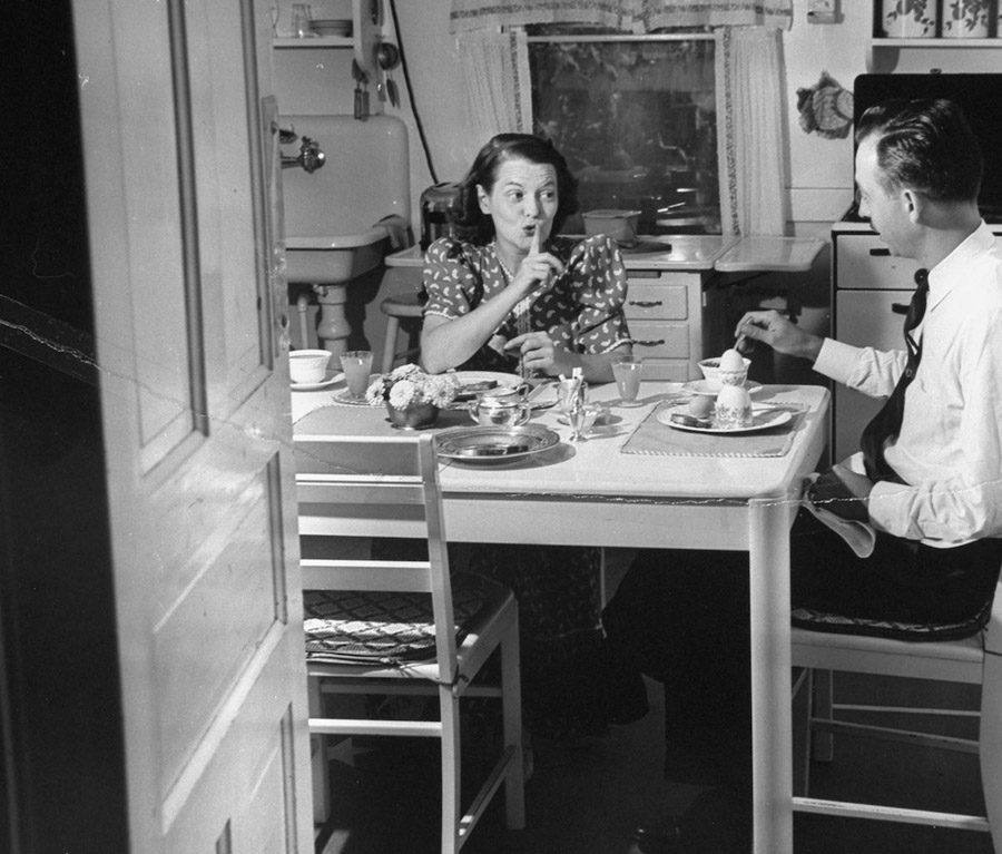 american mother 1941 shhh
