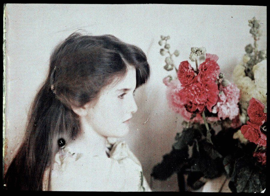 etheldreda laing autochrome iris profile