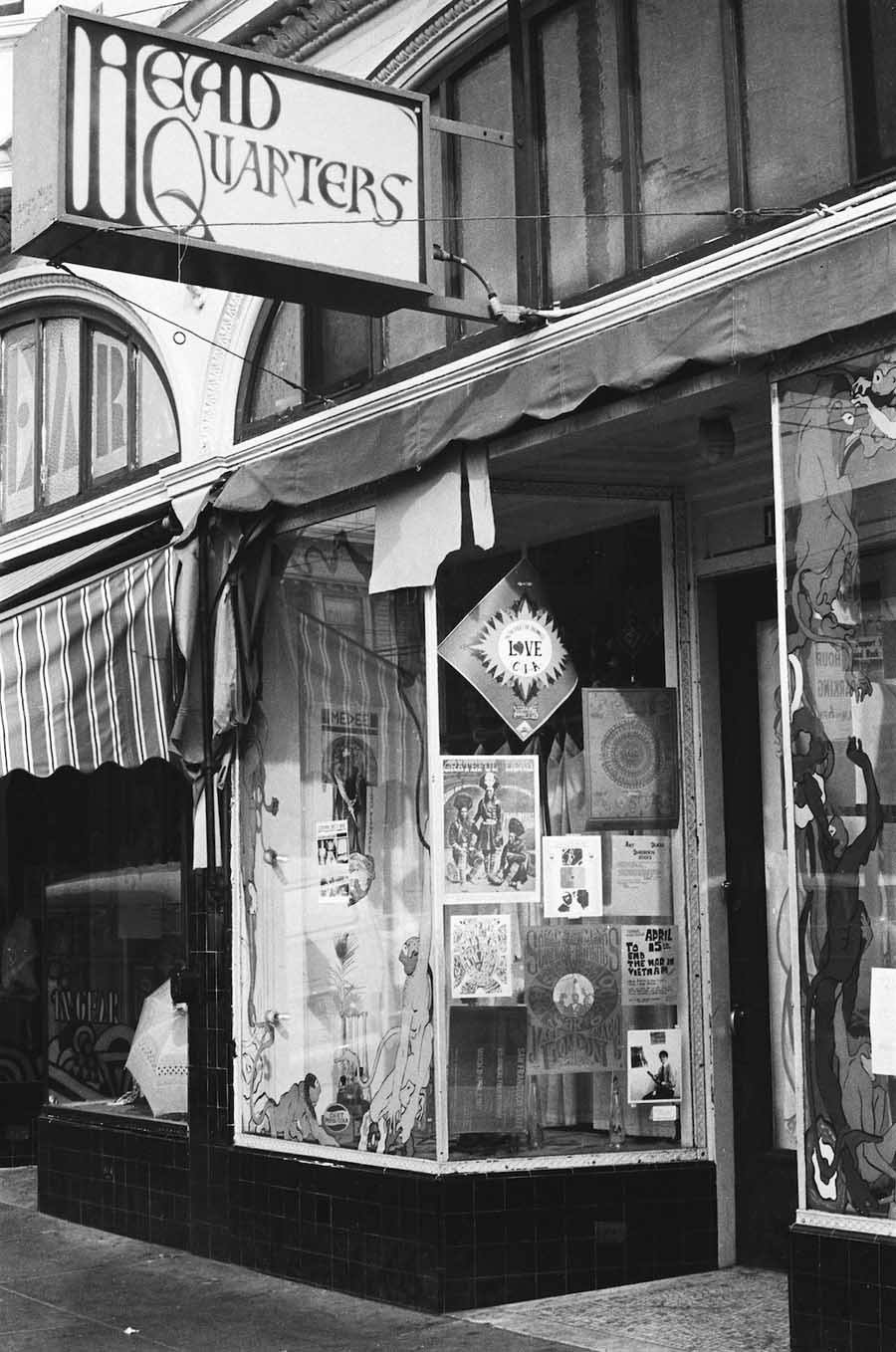 haight ashbury 1967 head quarters