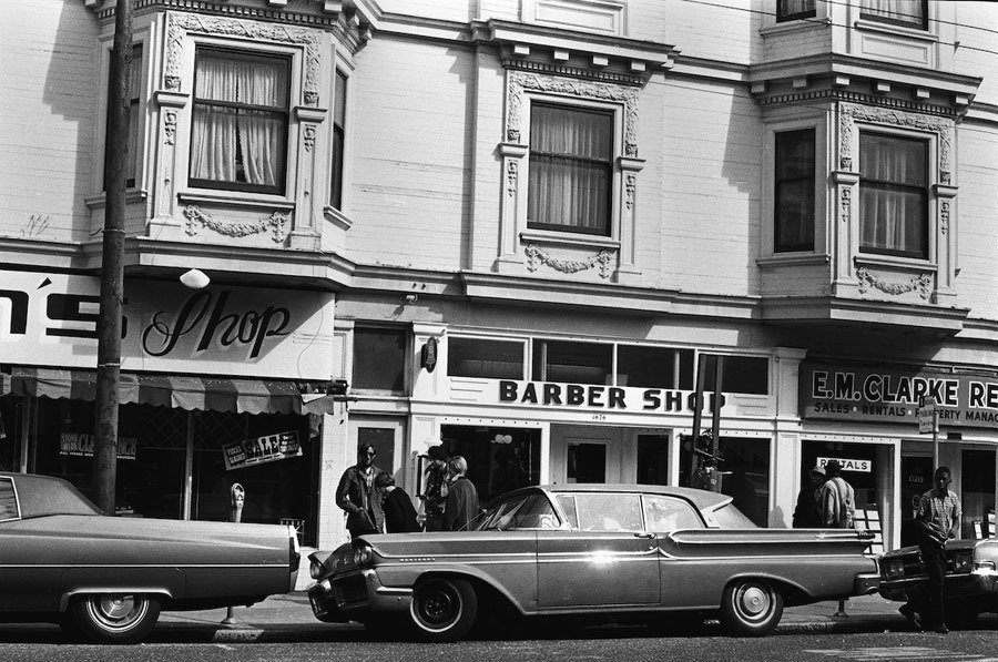 haight ashbury 1967 barber