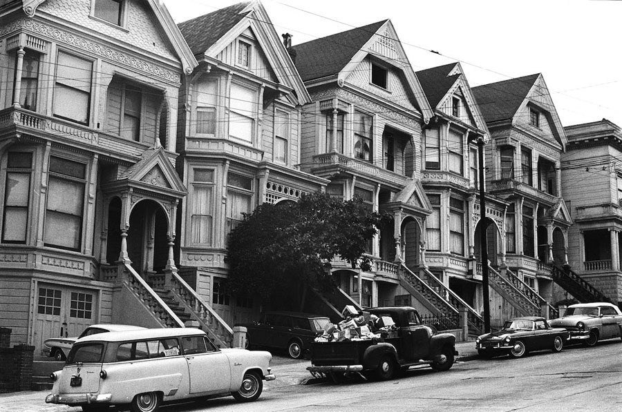 haight ashbury house row