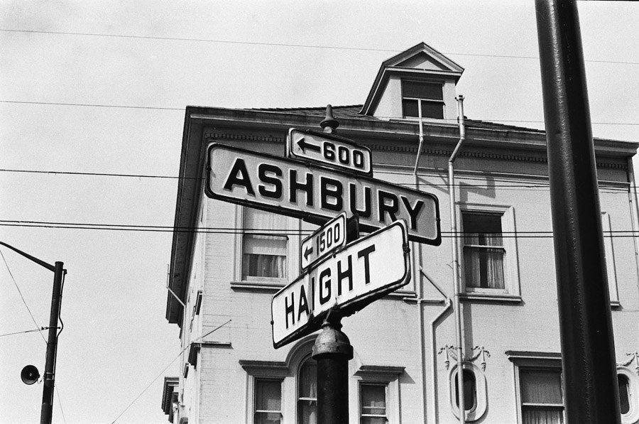 haight ashbury 1967 intersection