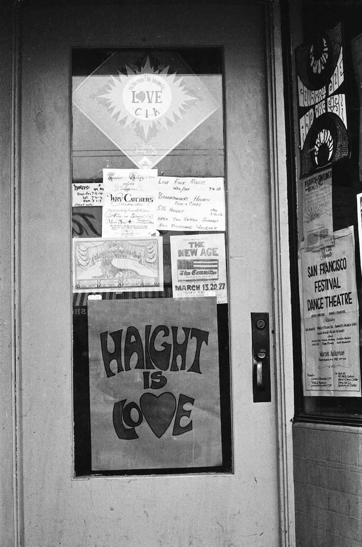haight ashbury 1967 is love