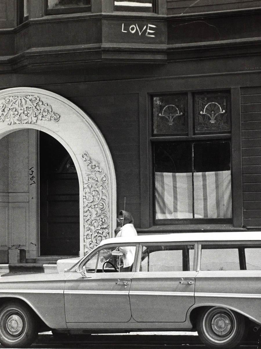 haight ashbury 1967 love window