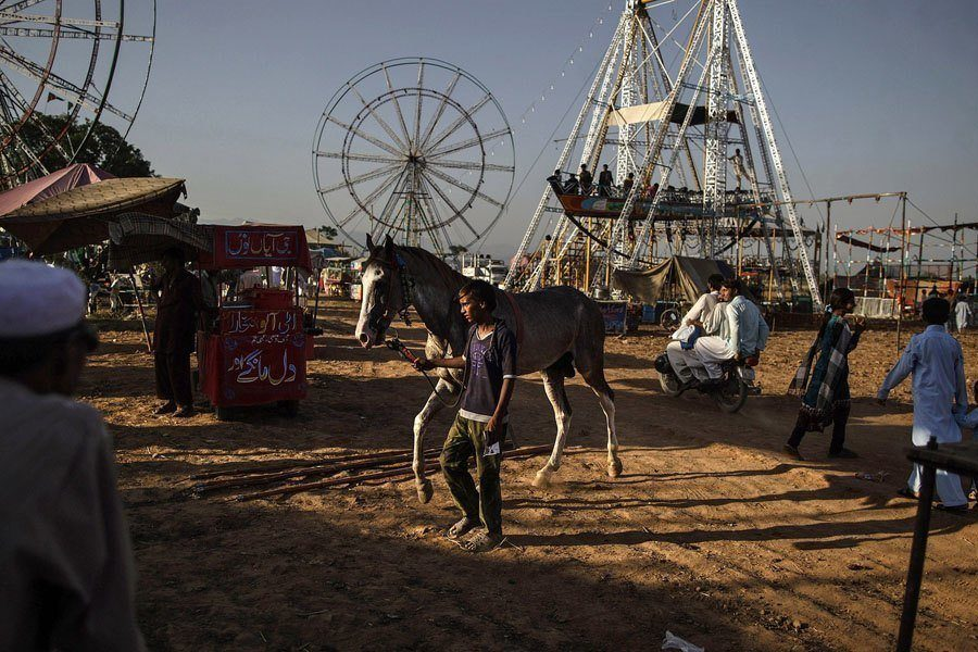 Pakistan amusement parks horse