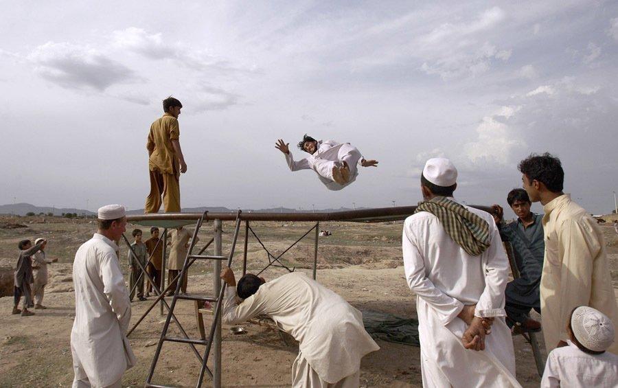 Pakistan amusement parks trampoline