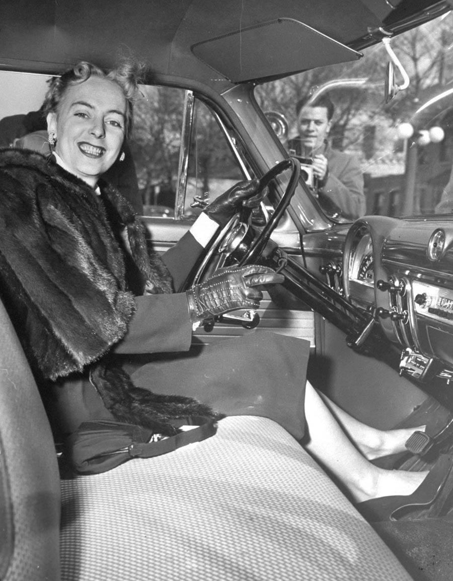 transgender pioneer driving