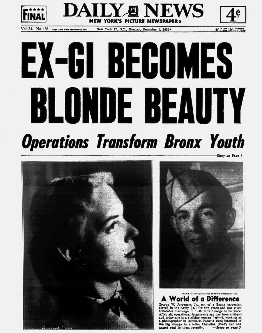 transgender pioneer headline