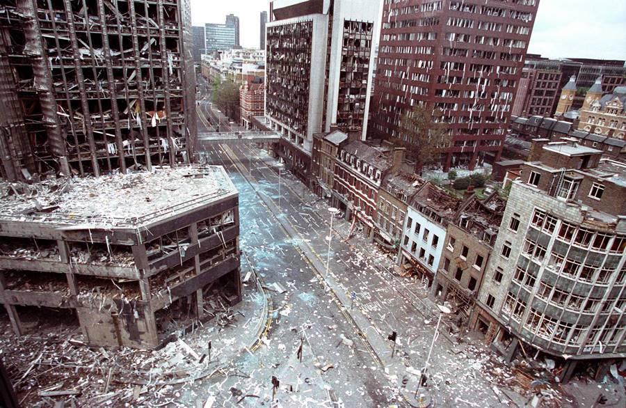 Aftermath Bishops Gate Bombing