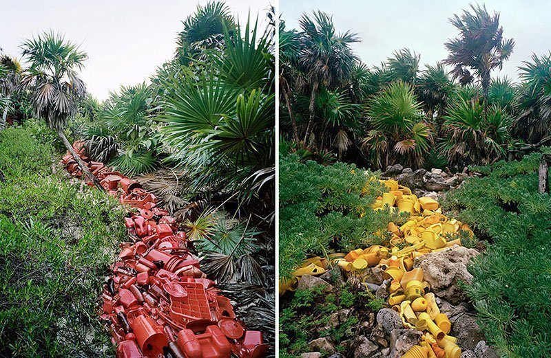 Trash Installations in Mexico