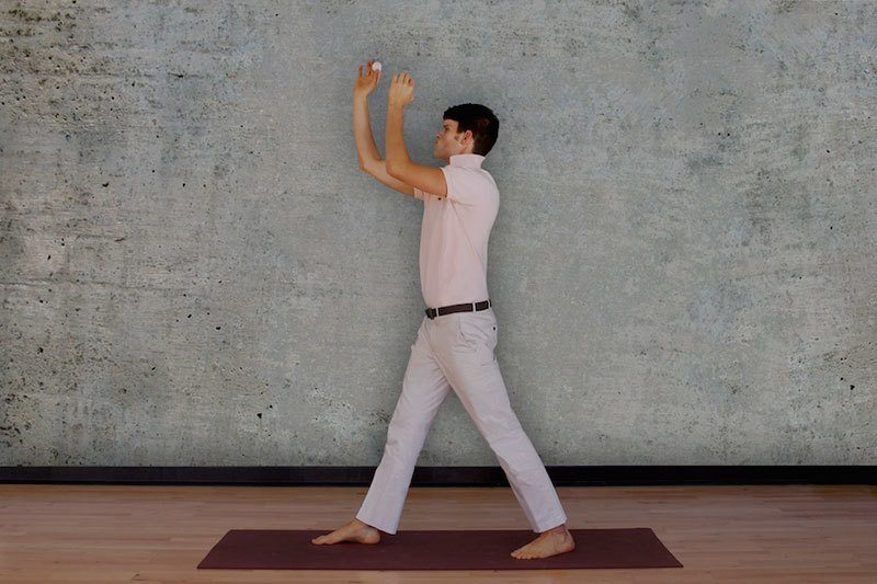 Beer Pong Lunge Bros Do Yoga