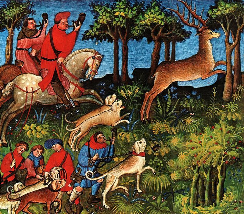 King Charles VI Hunting