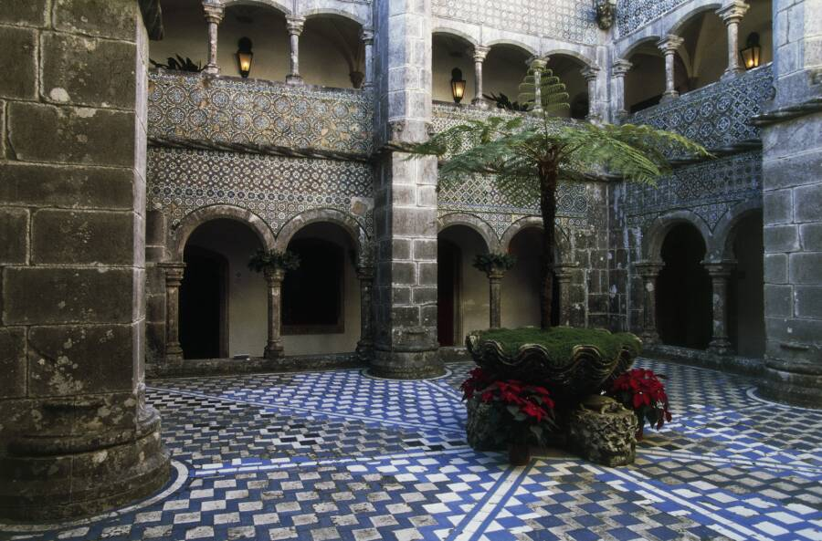 Cloister At Pena National Palace