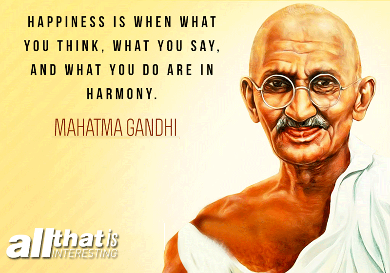 Mahatma Gandhi Deep Quotes About Life
