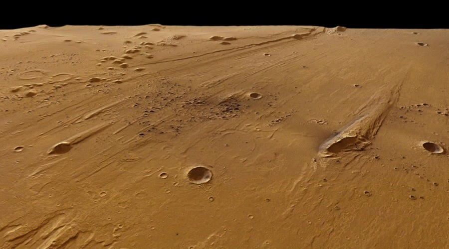 Europe Space Martian Surface