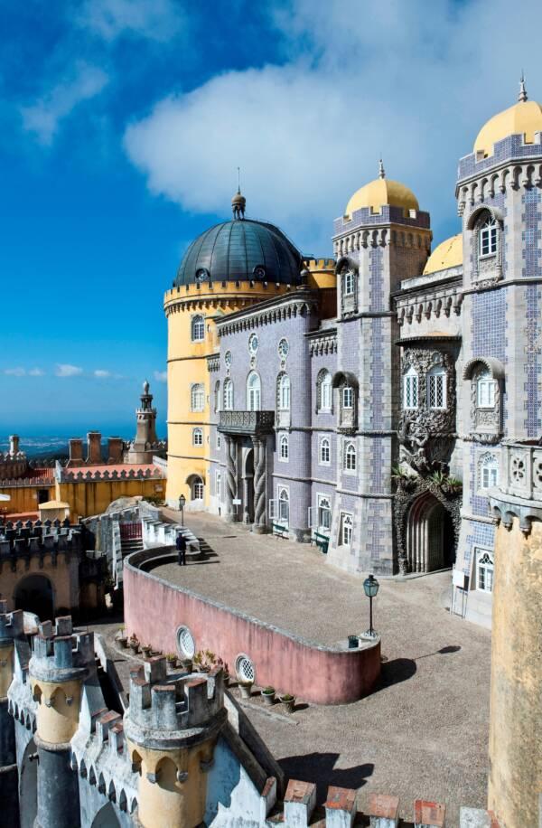 Exterior Of Palace De Pena