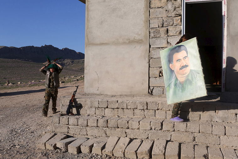 Female ISIS Fighters Abdullah Ocalan