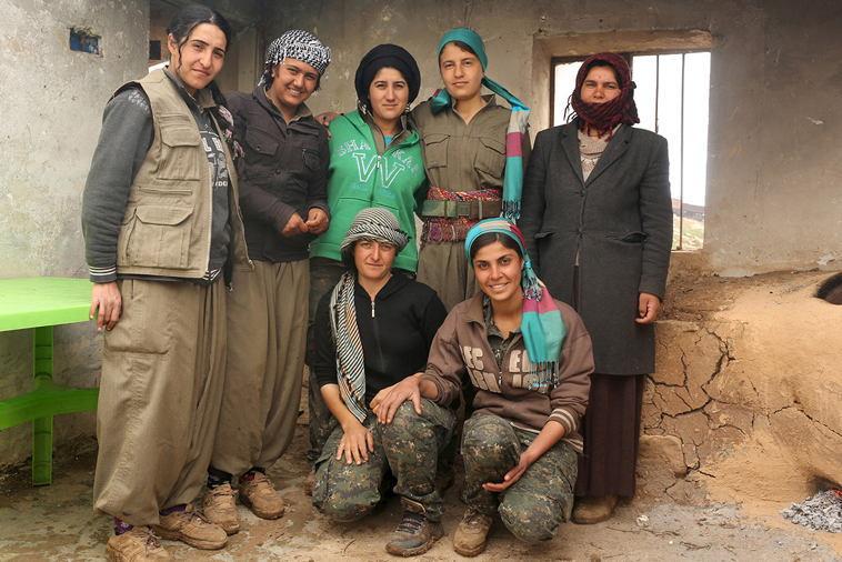 Female ISIS Fighters Yazidi