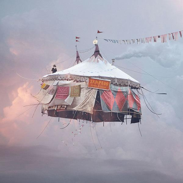 Circus Flying Houses