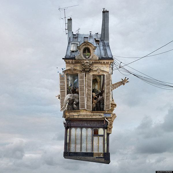 Flying Homes Laurent Chehere