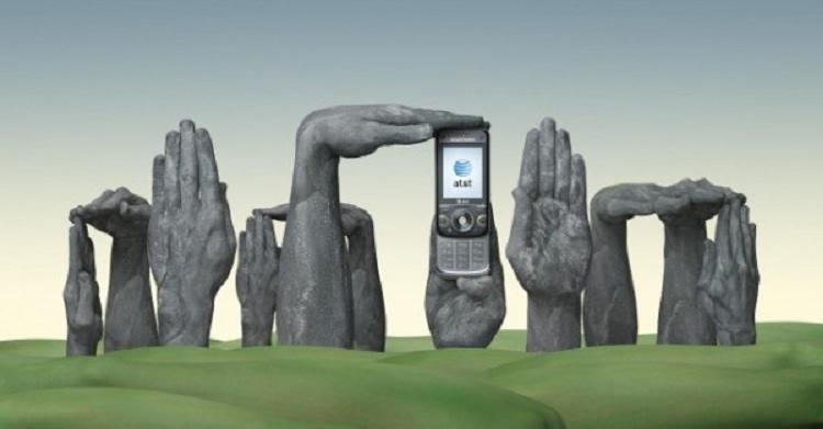 Stonehenge Hand Art