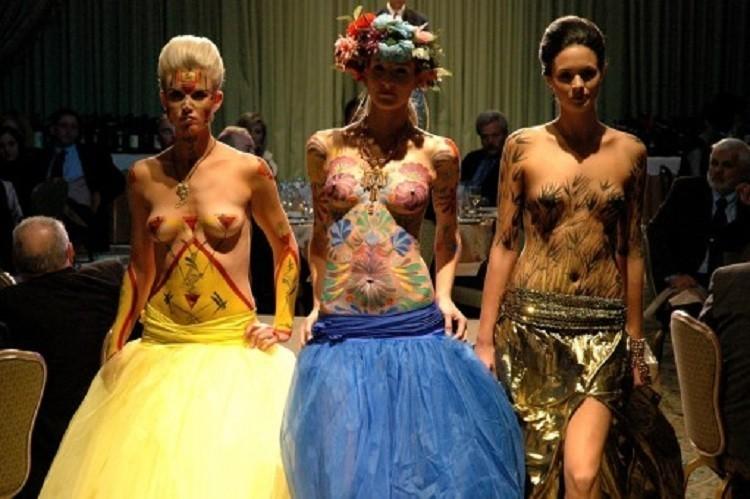 Women Body Paint