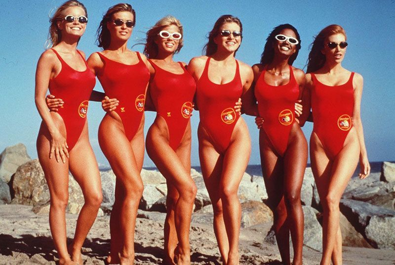 History of Women's Swimwear Baywatch