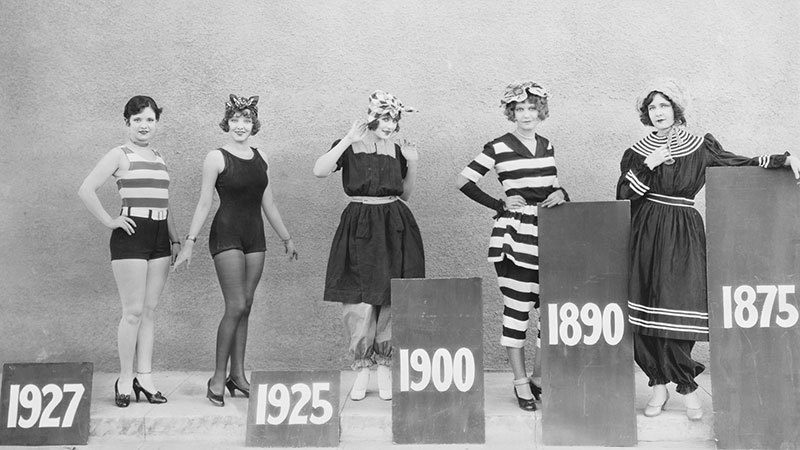History of Women's Swimwear Styles